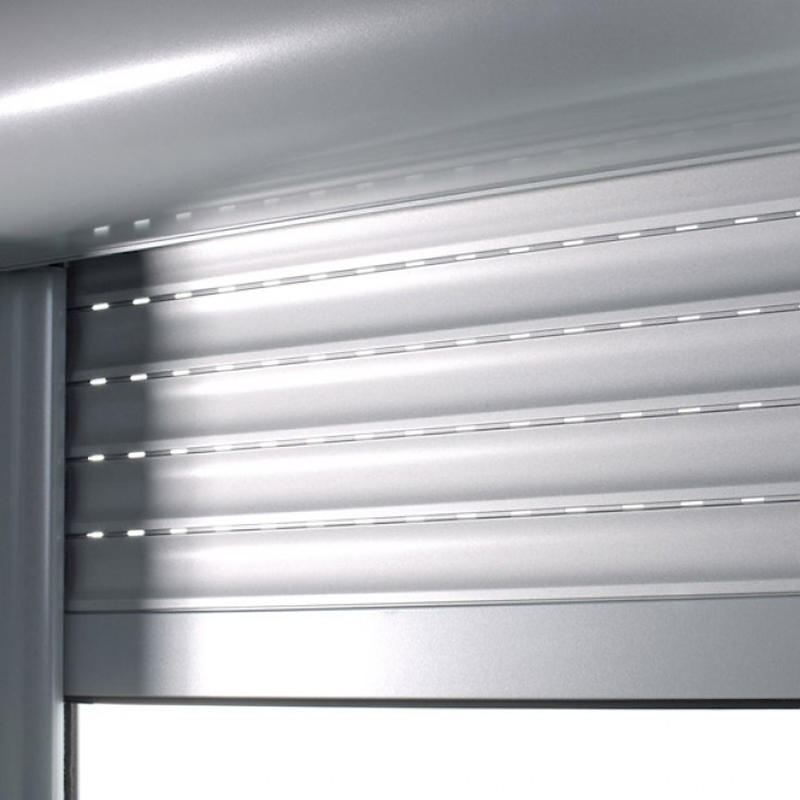 55mm Aluminum with polyurethane material roller shutter windows DDP Price