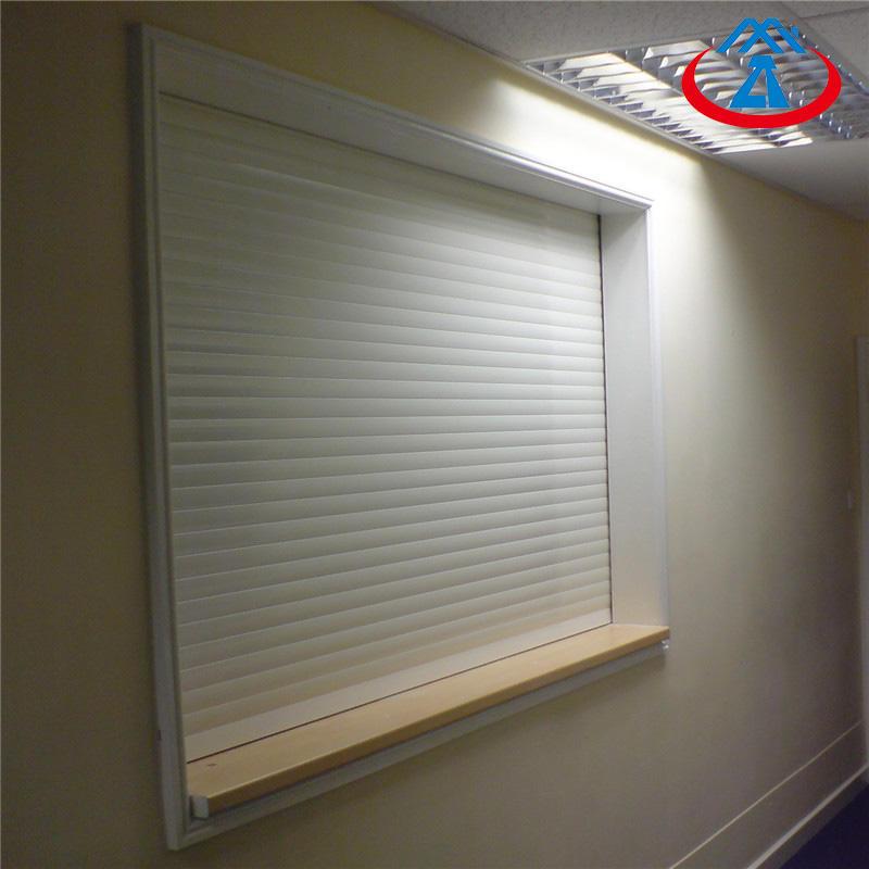1500*1000mm 39mm Double Layer Aluminum Alloy Shutter Roll up Window