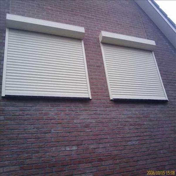 Aluminum Width 55mm Vertical Electrical Heat Prevention Factory Price Roller Shutter Window