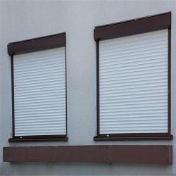 Aluminum Roller Shutter Window Manufacturer Aluminum 55 Slat Width Electric Rolling Shutter Window