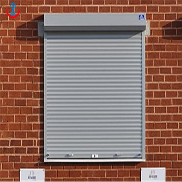 45mm Width Of The Slat Remote Control Thermal Insulation Aluminum Shutter Door