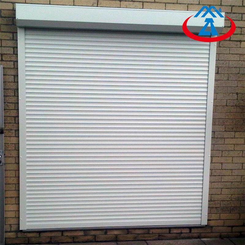 Exterior Window Roller shutter Aluminum Rolling Windows For sale