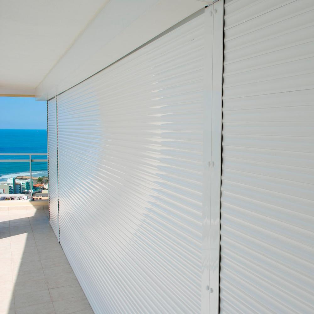 Heat Prevention Best Quality Electric 55 mm Aluminum Width Slat Aluminum Roller Shutter Window