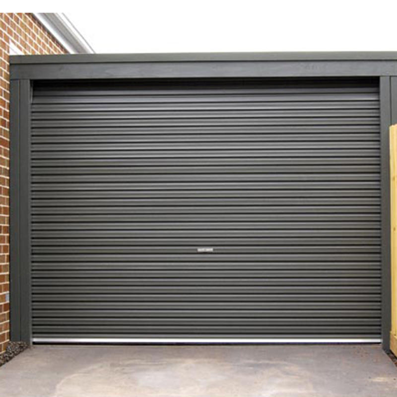 Thermal Insulation Exterior Doors Aluminum Alloy Roller Shutter Door For Villa