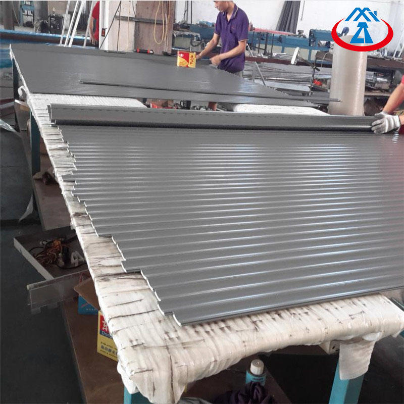 Motorized Roller Shutter Exterior Windows With Remote Control