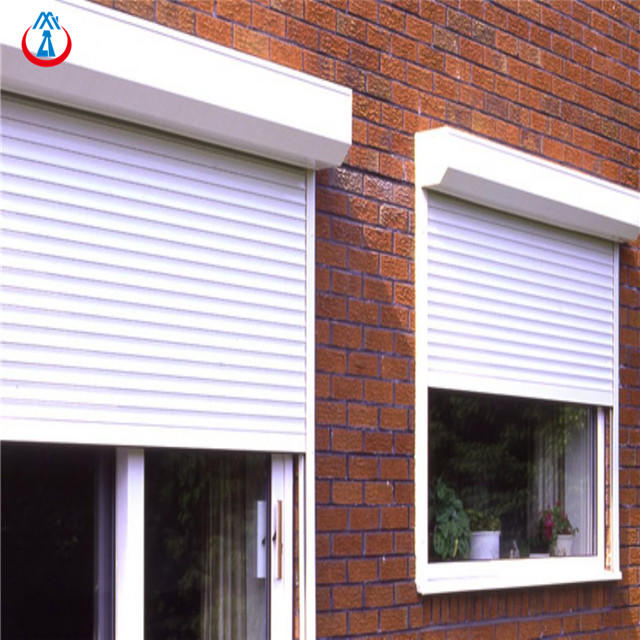Electric 45mm Width Of The Slat High Performance Thermal Insulation Aluminum Shutter window