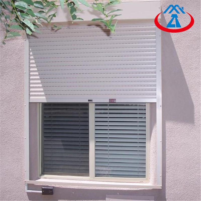 China Factory Fashion Metal Roller Shutter/Rolling WindowFor Sliding Window