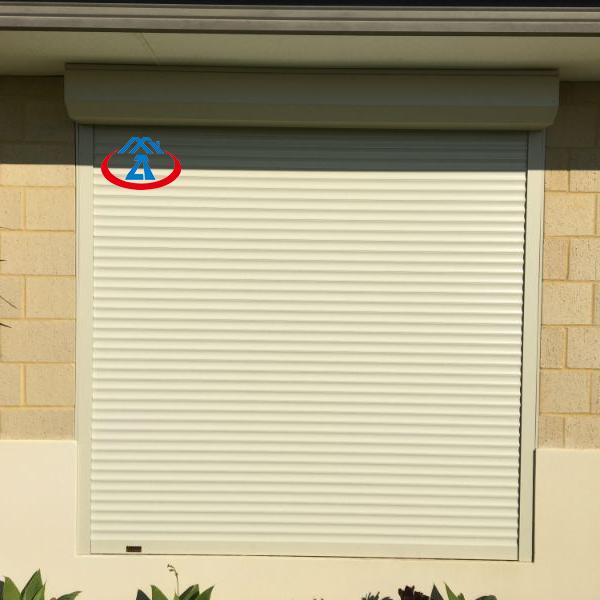 Wholesales 1000mm*1400mm 45mm Width ofSlat Aluminum Exterior Rolling Shutter for Sales