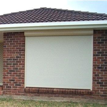 Sound Insulation Heat Prevention Aluminum Rolling Roller Shutter Window Manufacturer