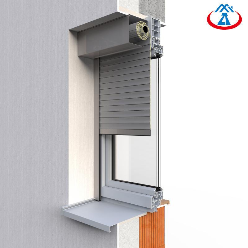 European Roll Up Metal Shutters Internal Roller Shutter Window