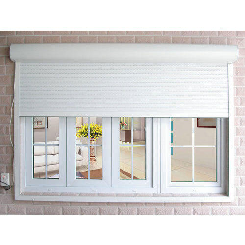 Factory Price Vertical Electric Best Quality Ready to ship Aluminum Rolling Shutter Window