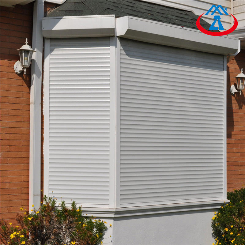 Aluminum Alloy Shutter Window Roll up Window With 55mm Layer