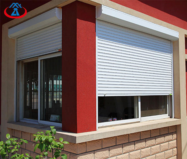 Aluminum And PU Material Shutter Window Rolling Shutter From China