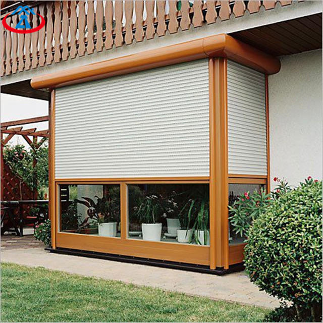 White 900mmW*1800mmH 45mm Width Of The Slat Sound Insulation Automatic Thermal Insulation Shutter Window