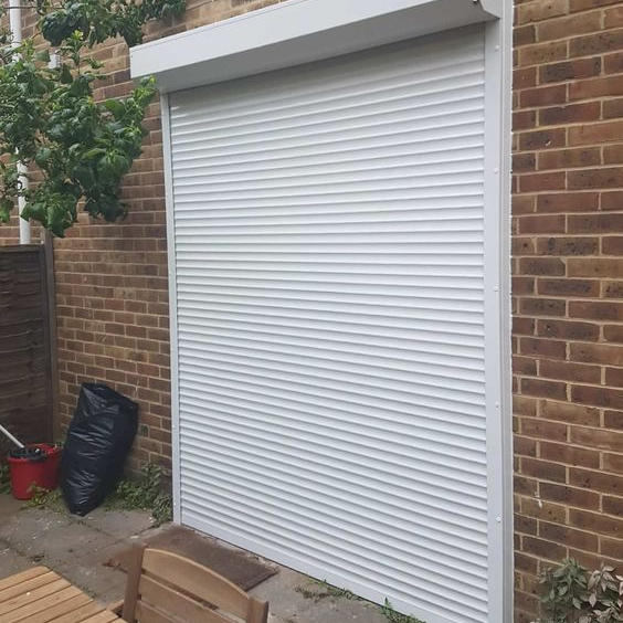 1000x1400 45mm Slat aluminium electric window rolling shutters exterior price