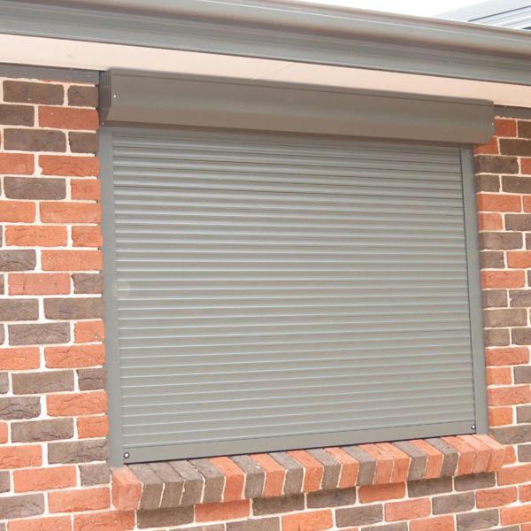 Exterior Electric Insulated Sound Insulation Roller Shutter Window