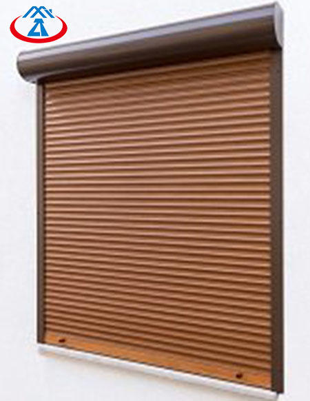 Guangzhou Vertical Roll Up Aluminum Shutter Windows