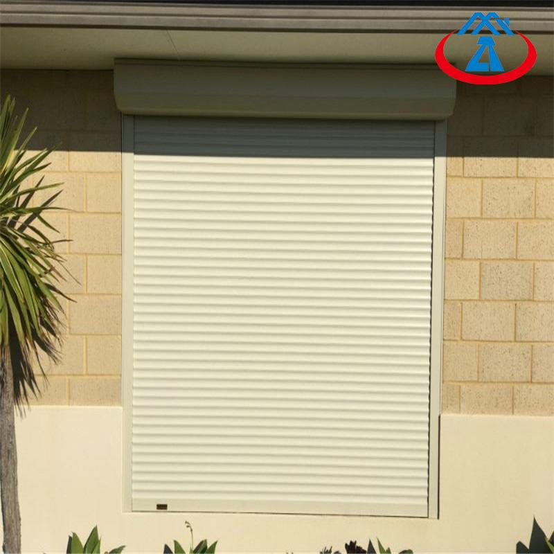Home Security Outside Aluminum Roller Shutter Windows