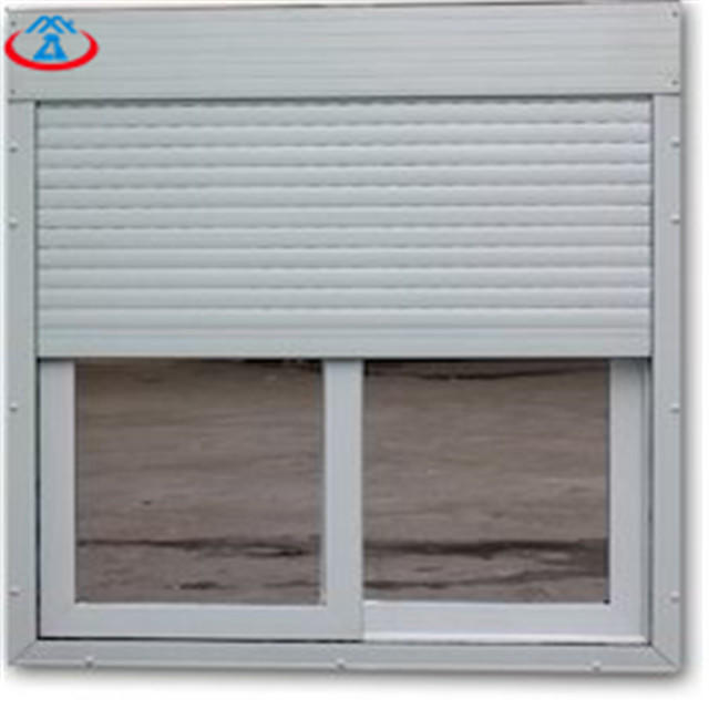 White 800mmW*1600mmH 45mm Width Of The Slat Remote Control Thermal Insulation Aluminum Shutter Windows