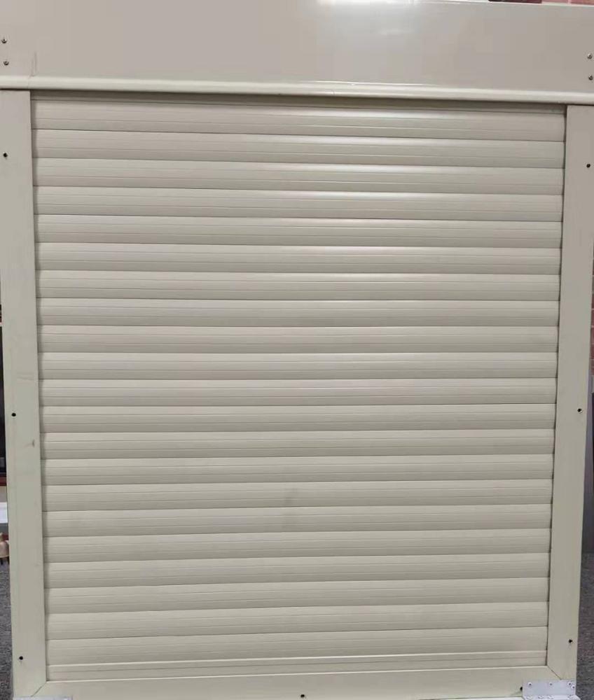 Thermal Insulation 1000mm*1000mm 45 Slat Aluminum Rolling Shutter Window For Sale