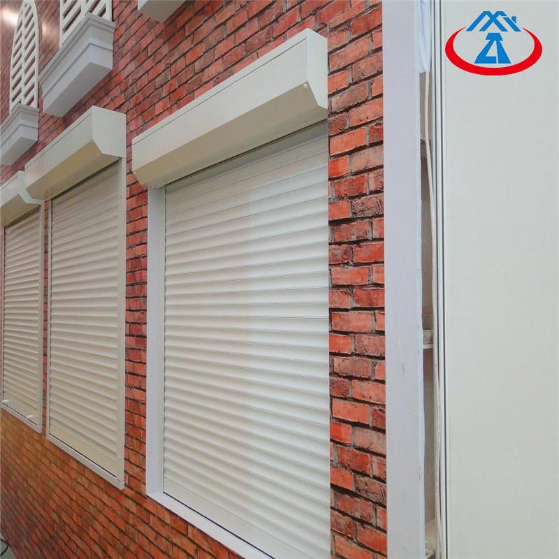 Aluminum Rolling Shutter Windows Electric Roll Up Shutter For Window