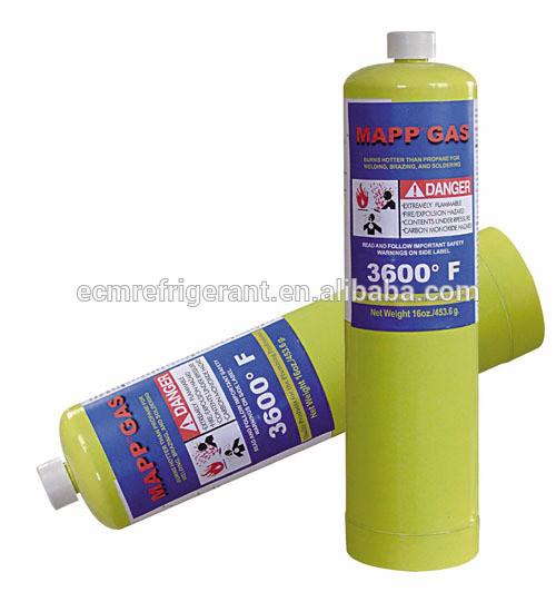 Mapp Gas ( Also supply refrigerants gas r134a, r404a ,r410a,r507c,ect. )