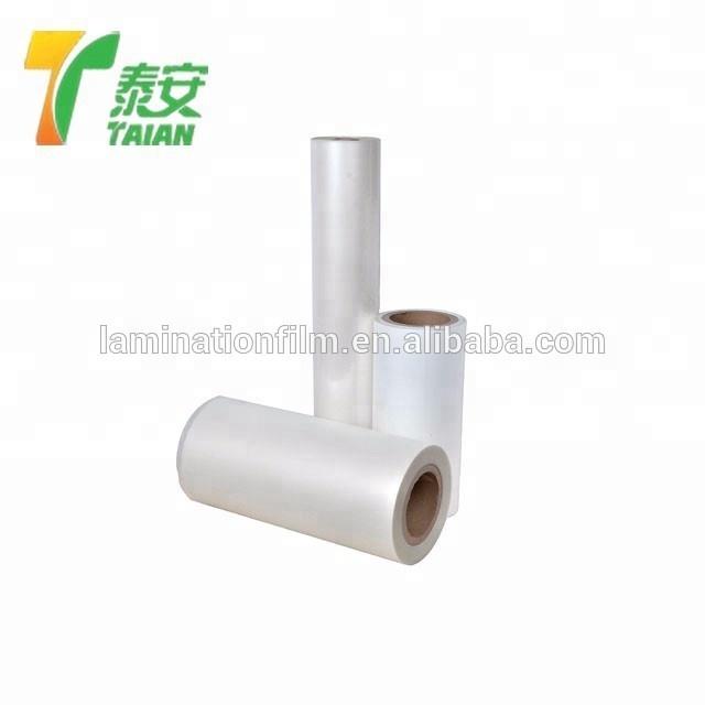 25 micron High quality and best price Bopp plain Film , supplier bopp film in china, silk lamination film with eva bopp film