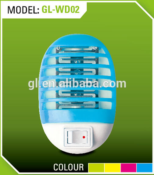 Plug in Mini Night Light Insect Mosquito Repellent Killer Lamp 4 LED Light Wide voltage WD02