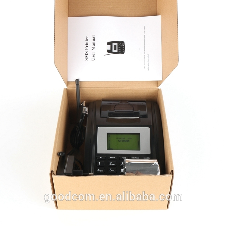 GOODCOM Thermal Receipt Printer GT5000S with GPRS SMS Connection