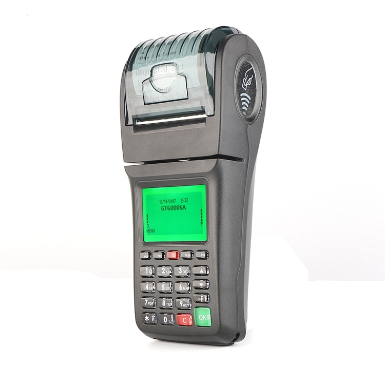 Handheld GPRS Wireless POS Terminal Machine POS For Restaurant Lottery Ticket Printing
