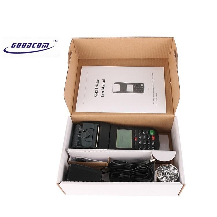 GOODCOM Handheld POS Bill Machine With Printer For Banking, Bus, Restaurant multi application