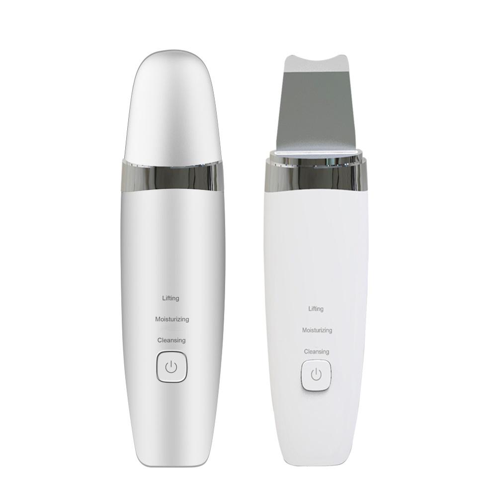 Mini gadgets spatula face cleaning beauty machine facial rejuvenation ultrasonic skin scrubber