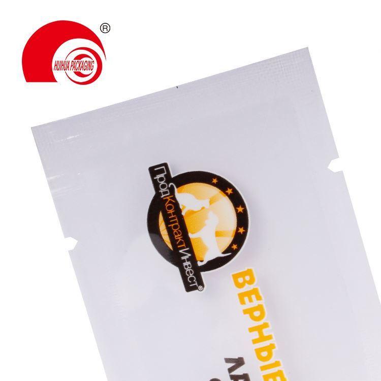 product-Huihua-Custom Printed Resealable Aluminum Foil Plastic Retort Pouch Packing Three Side Seali
