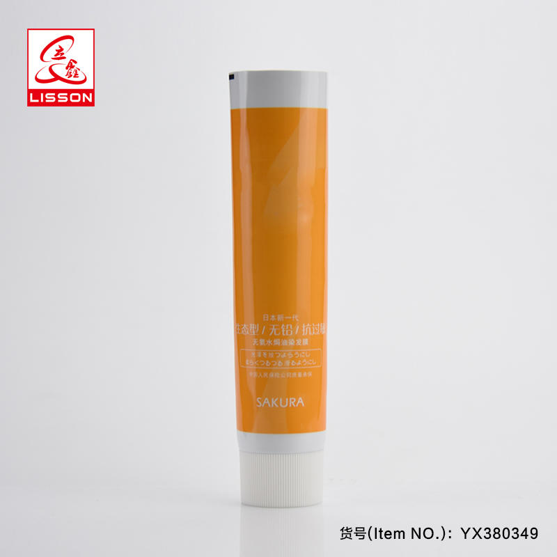 100ml Pharmaceutical Packaging Tube For Toothpaste With Screw Cap