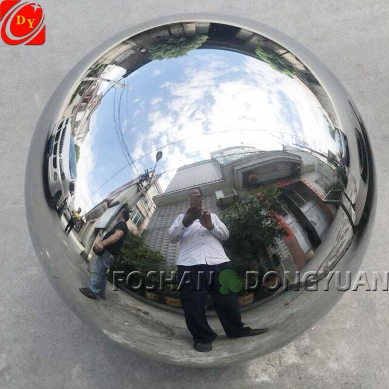 45CM Shiny Mirror Chrome Polished Stainless Steel Sphere