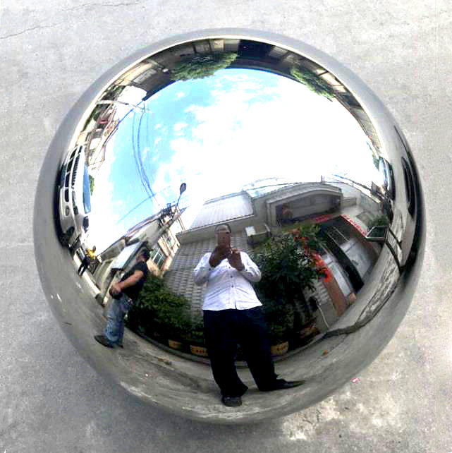 Stainless Steel Gazing Globes,High Polished Hollow Metal Steel Ball