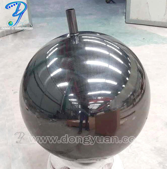 Garden Stainless Steel Gazing Hollow Ball/ Metal Globe Water Feature
