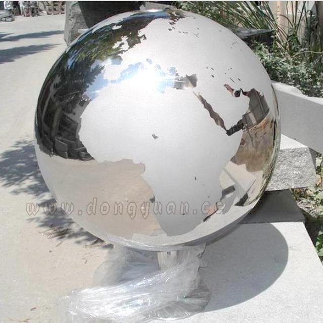 12 InchGarden Stainless Steel Gazing Globes