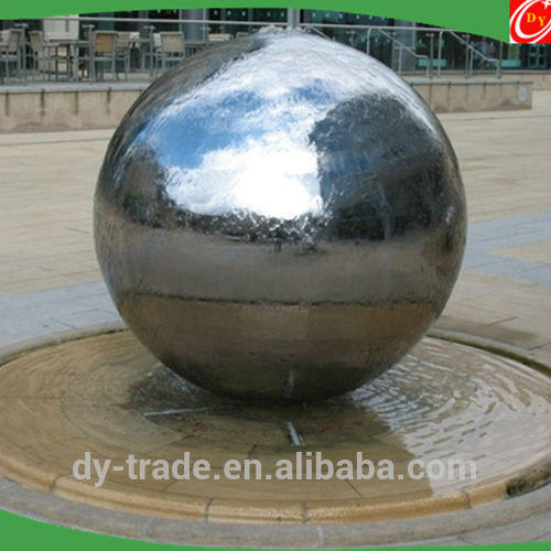 Stylish Spherical Standing Winter Garden Water Fountain