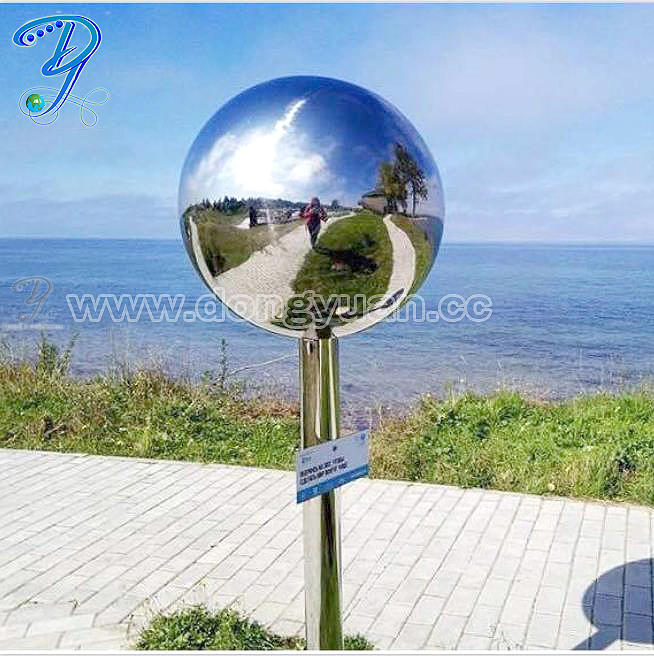 Stainless Steel Four Ball Lightning Rods ,Metal Dphere with pipe lightning protection