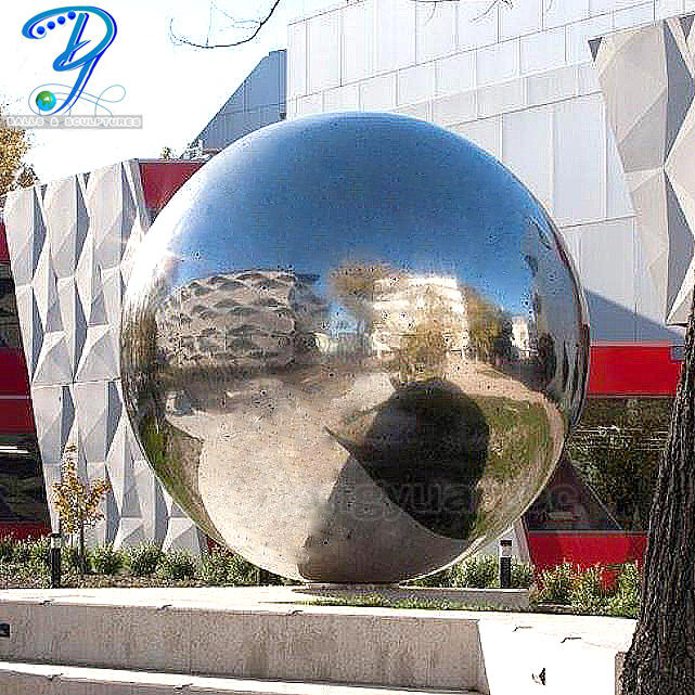 2000mmOutdoor Decorative Stainless Steel Gloss Ball
