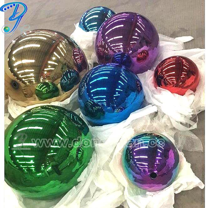 40cm Stainless Steel Sphere Decorative Garden Ornament