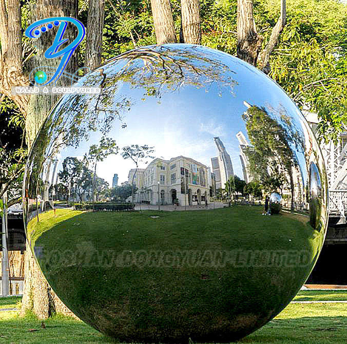 Stainless Steel Sphere Garden