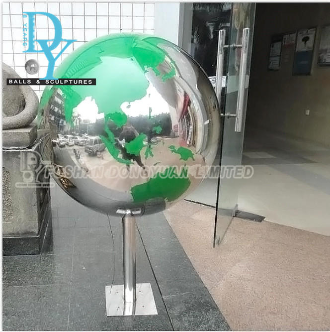 Stainless Steel Ball for Indoor Fountain, Metal Ball Water Feature for Construction