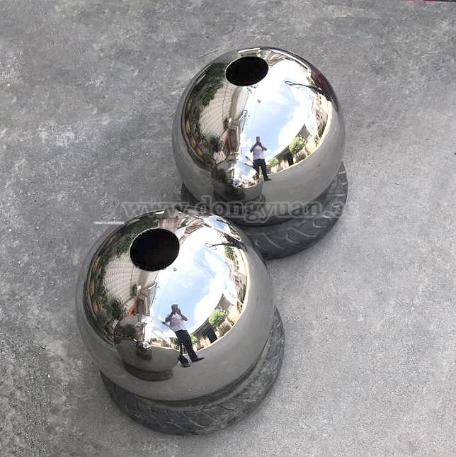 Stainless Steel SphereFlower Vase