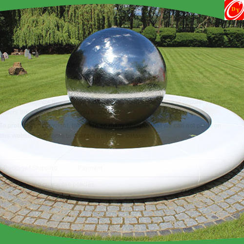 Polished Stainless Steel Ball for Pool Decoration