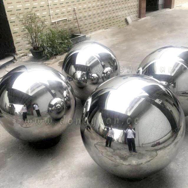 Stainless Steel Hollow Sphere Garden Landscaping