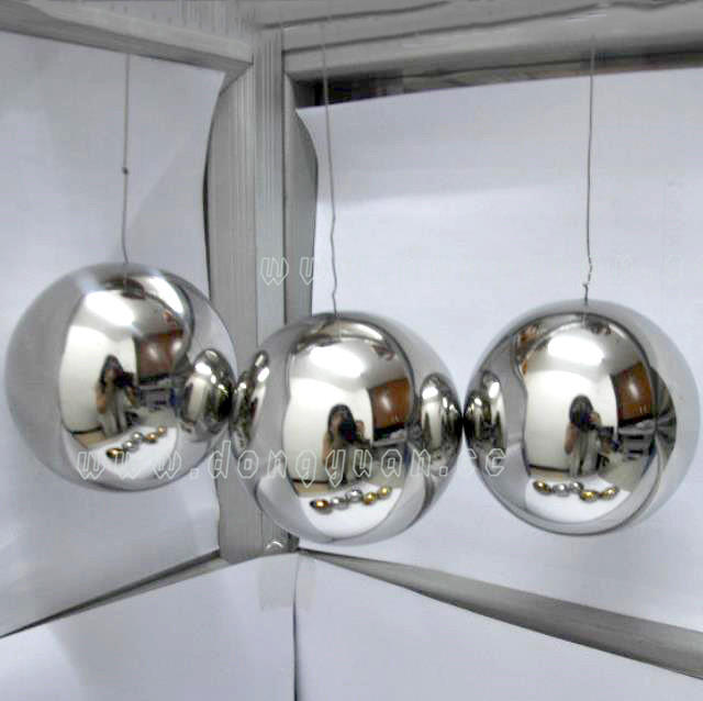 3 Inch Ceiling Stainless Steel Ball for Wedding Decoration