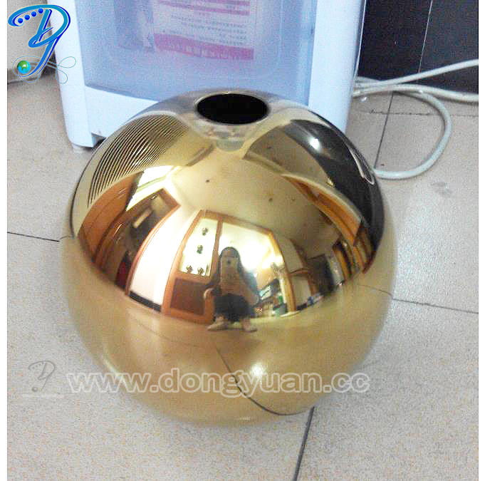 Stainless Steel Hanging Sphere for Home Adornment