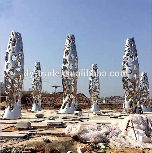 Abstract Arts Marine Animal Fish Spheres Sculpture for Garden Ornaments